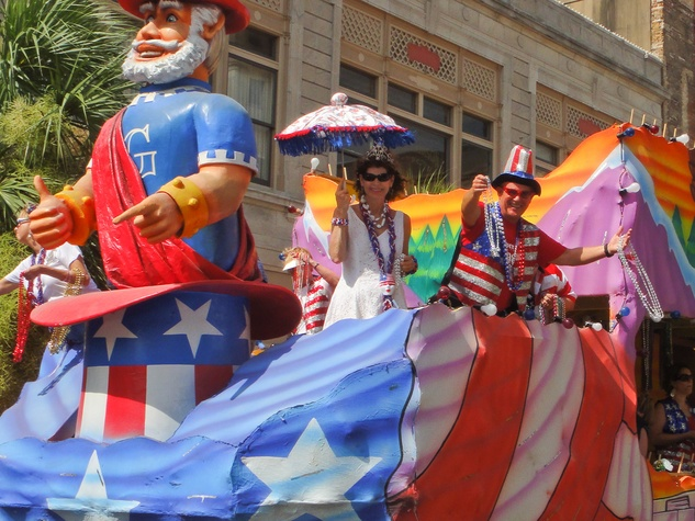 Galveston, Fourth of July, parade