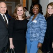 Alred Rivas, Susan Stout (both of Tiffany & Co.); Sheila Haley, TWU; Heather Norris, TWU Celebration