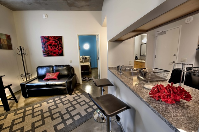 Cougar Place Two Bedroom On Campus Housing at UH