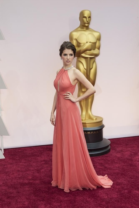 Anna Kendrick at the Oscars in Thakoon