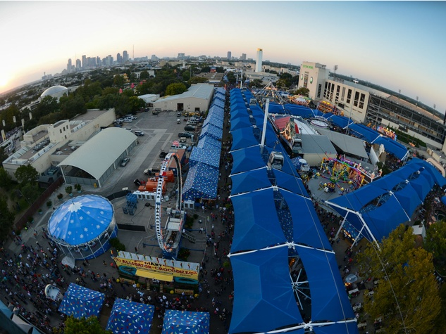 Midway at State Fair of Texas