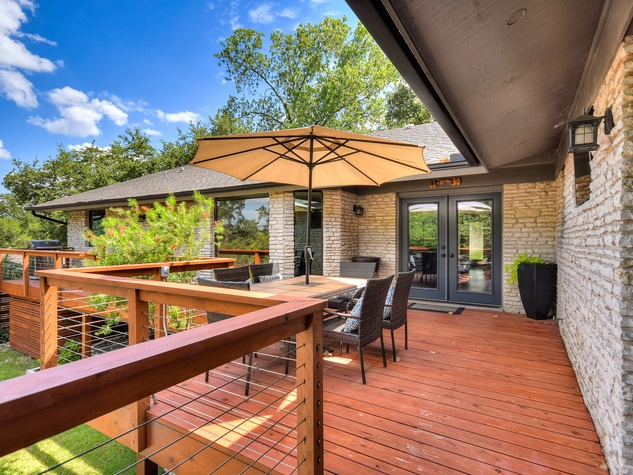 3914 Glengarry Dr Austin house for sale deck