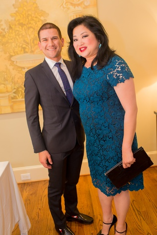 Houston, Vivian Wise and Peter Martino jewelry party, May 2015, Salvatore Scotto DiVetta and Gigi Huang