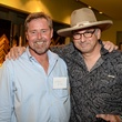 58 Billy Miller, left, and Mark Burns at the HeartGift photo exhibition May 2014