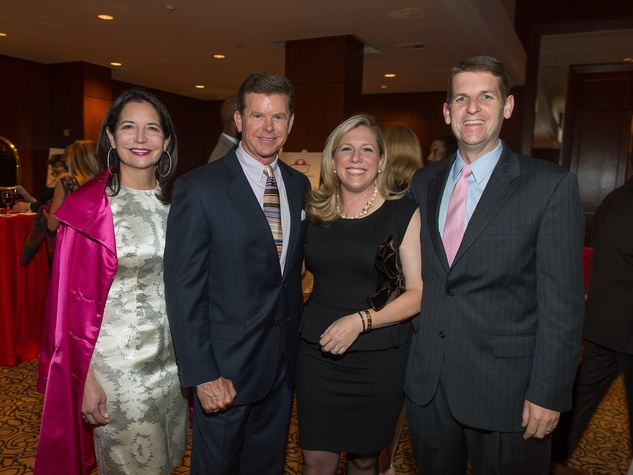 187, Houston Area Women's Center Gala April 2013 Janet Moore and Harvin Moore, Alicia Raymond and Shawn Raymond