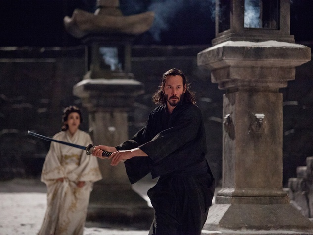 47 Ronin with Keanu Reeves