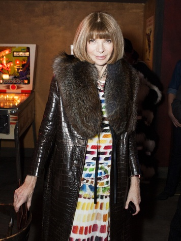Anna Wintour at Chanel Metiers d'Art in Dallas