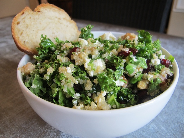 Ruthie, where to eat right now, October 2012, Adair Kitchen, Kale Quinoa