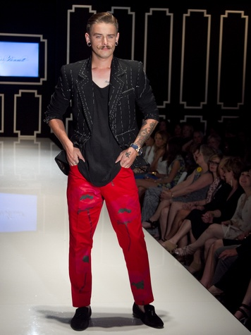 Austin Fashion Week 2014 Thursday Runways Ross Bennett