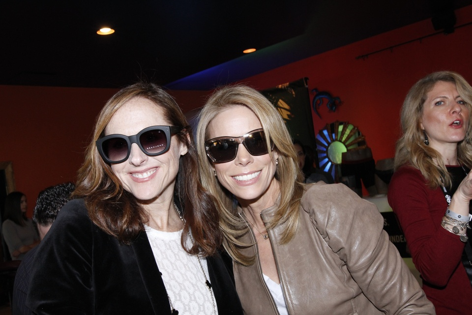 Molly Shannon and Cheryl Hines at Sundance Film Festival