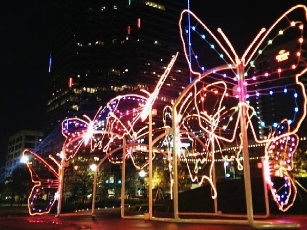 avoid these downtown dallas streets for city lights 2013 holiday