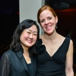 Houston Symphony Musicians Rebecca Powell Garfield at the Young Professionals Backstage party January 2014