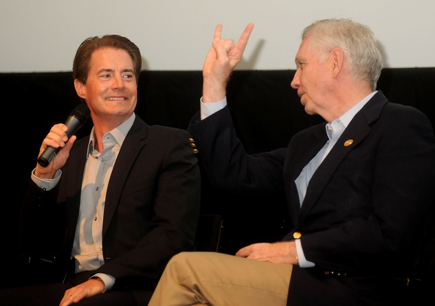 News_Kyle MacLachlan_Charles Foster_Hook em Horns_July 2010