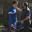 Channing Tatum and Mark Ruffalo in Foxcatcher