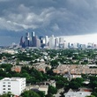Stormy Houston weather photo from Huntington highrise