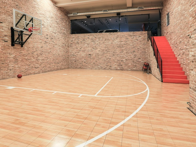 Basketball court at 10179 Brook Hollow Court in Dallas