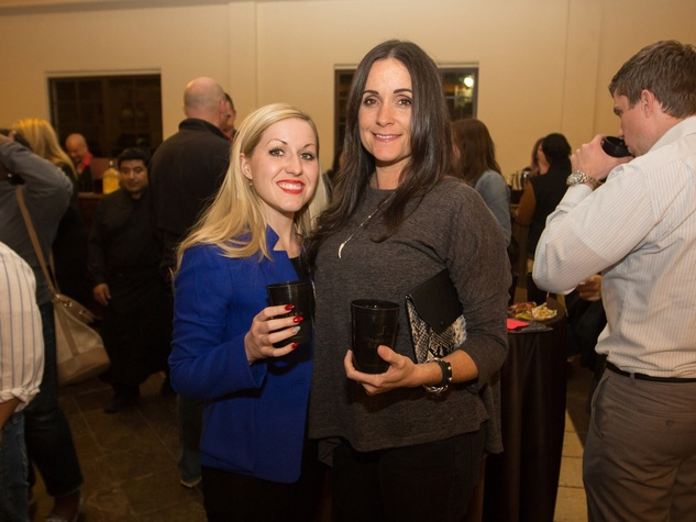 Woodford Reserve event Houston Teresa Grim, Rachel Good