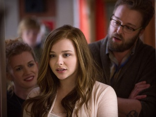 Mireille Enos, Chloe Grace Moretz and Joshua Leonard in If I Stay
