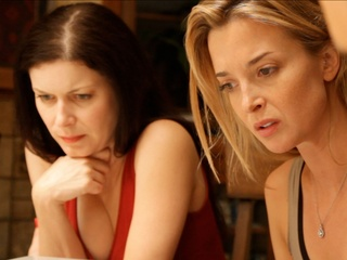 Lauren Maher and Emily Foxler in Coherence