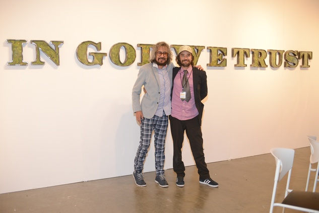 6 Gaston Ugalde, left, and Christopher Paschall at the HFAF 2014 Opening Night September 2014
