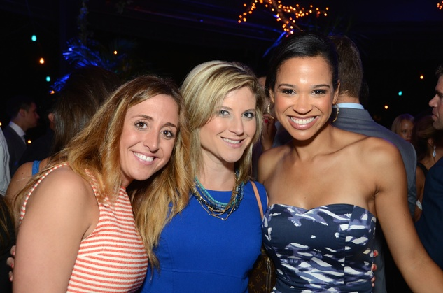 11 Lauren Nagle, from left, Debra Knight and Mia Gradney at the Blue Cure Foundation benefit party at Hotel ZaZa June 2014