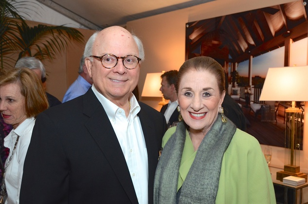 Glenn Bauguss and Martha Turner at the Butler Brothers party November 2014