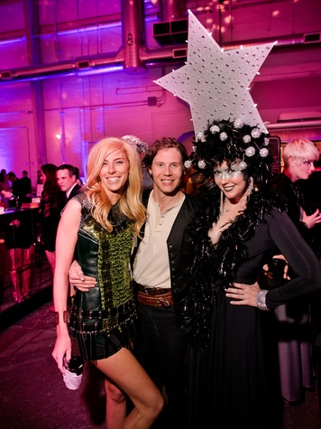 120 Lindsey George, from left, Will Walsh and Kasi Kubiak at the Fresh Arts Space Ball March 2014