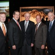 6 Todd Frazier, from left, Gene Dewhurst, Peter Hillary, Stevan Rutherford and Jim Daniel at the Nature Conservancy luncheon November 2013