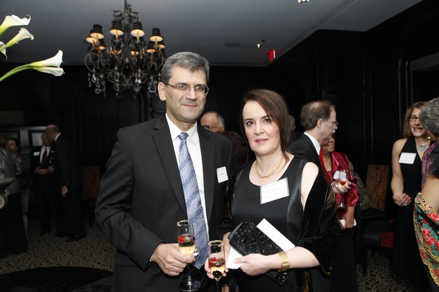 7-2 Sasha Savatić and Dr. Mirjana Maletić-Savatić at the Health Museum Gala September 2014