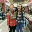 Go Texan Day February 2014 two cute high school girls