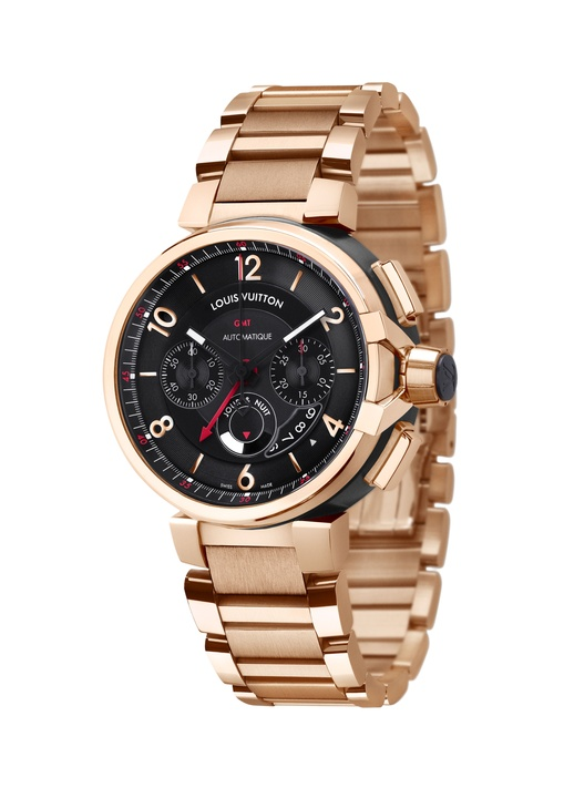 Louis Vuitton Tambour eVolution Chrome CMT Pink Gold Watch