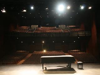 Interior of the Alma Thomas Theater at Southwestern University