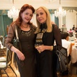 14-19 Kimberly Gremillion, left, and Carolyn Farb at the Community Artists' Collective's luncheon September 2014