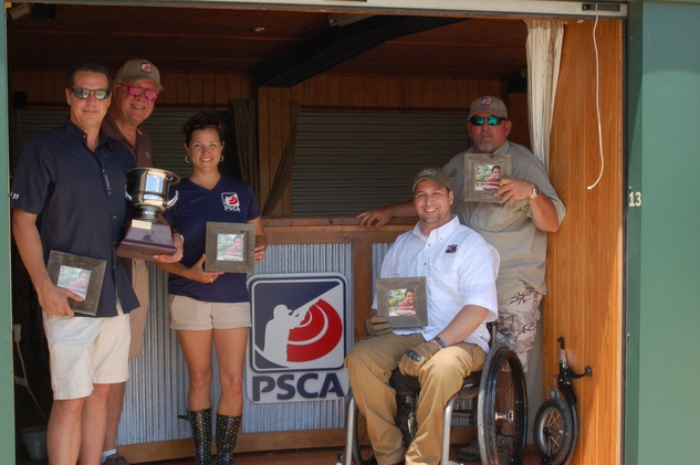 108 Sporting Clays Tournament winners, Team Oasis Energy at Child Advocates Pull for Kids May 2014