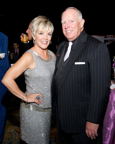 14 8232 Suzanne and Bob Potter at the American Heart Association's Montgomery County Heart Ball February 2015