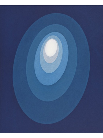 From The Guggenheim  James Turrell September 2014 James Turrell, From The Guggenheim, 2013, Untitled, Aquatint,