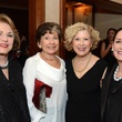 39 Bunny Radoff, from left, Mary Jaffe, Ede Weiner and Sheila Loewenstern at the Houston Food Bank dinner April 2014