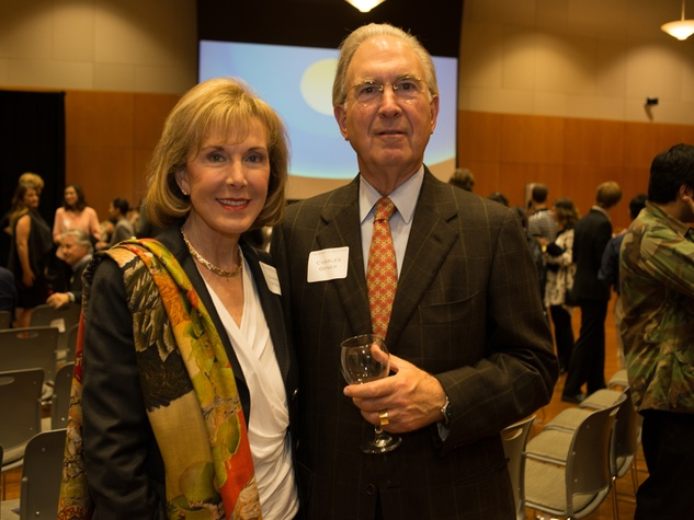 Private Reception Honoring James Turrell Charles & Diane Ofner