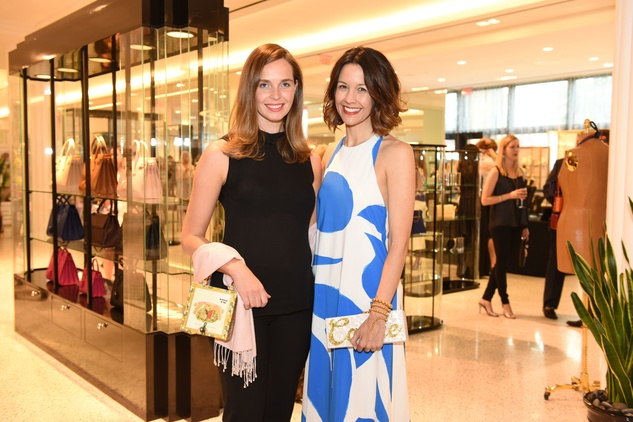 Recipe for Success Fashion Gene Awards, May 2015, Nina Delano and Carrie Colebrt.