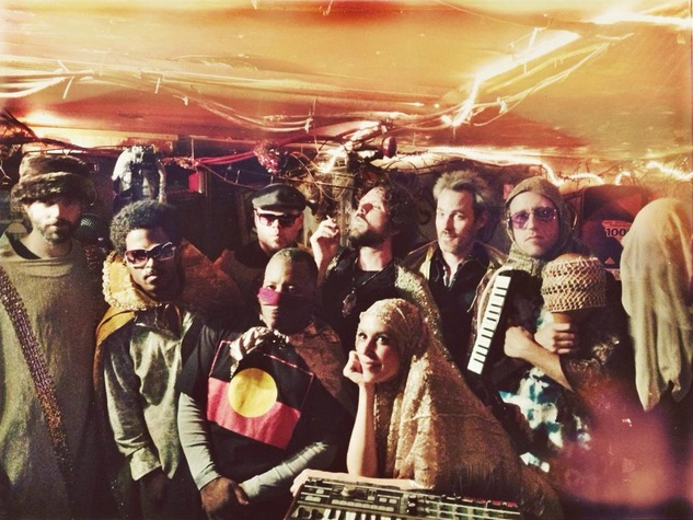 Topaz & the Golden Dawn Arkestra
