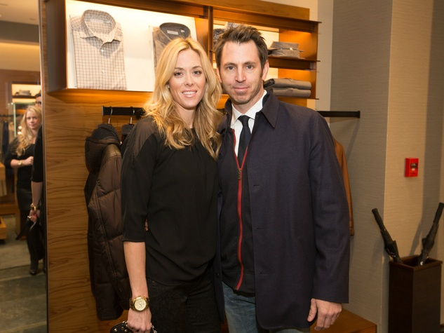 Hallie Alford and Ted Hoffman, zegna