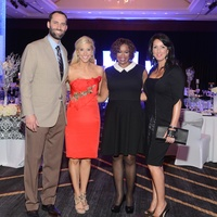 8 Matt and Laurie Schaub, from left, Deborah Duncan and Alicia Smith at the Matt Schaub Hope Can Heal Gala April 2014