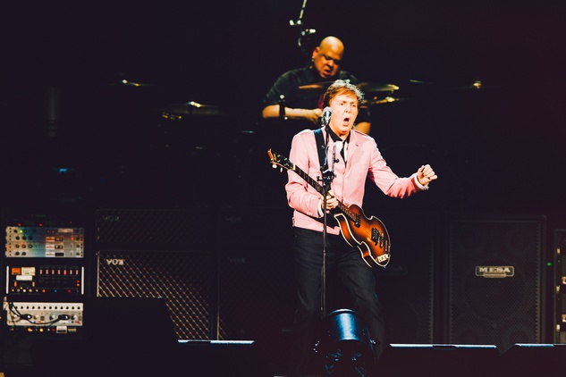 Paul McCartney at the Frank Erwin Center 2