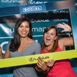 2 Nicole Passanante, left, and Tracey Honea at the CultureMap Social at Boheme September 2014