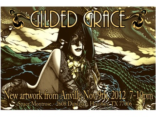 "Art opening reception: ""Gilded Grace"""