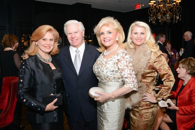 21 Becky and Bubba Cooke, from left, Jan Duncan??? and Rebecca Thomas at the Krist Samaritan Gala November 2014