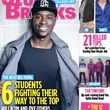 William Ntim square-neck T-shirts August 2013 Study Breaks magazine cover