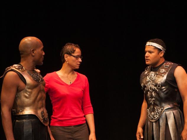 Beautiful University Of Houston Caesar July 2013 Seth Gilliam (bald) As Antony Leah C.