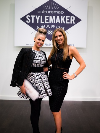 Maleiah Rogers and Melissa Rountree at 2014 CultureMap Stylemaker Awards
