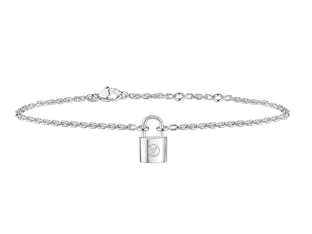 Houston, Louis Vuitton Make A Promise campaign, Jan 2017, Silver Lockit Necklace Bracelet